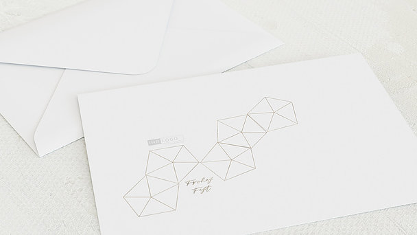 Umschlag mit Design Weihnachten Geschäftlich - Estrella