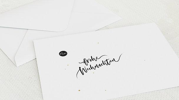 Umschlag mit Design Weihnachten Geschäftlich - Wonderful Wishes
