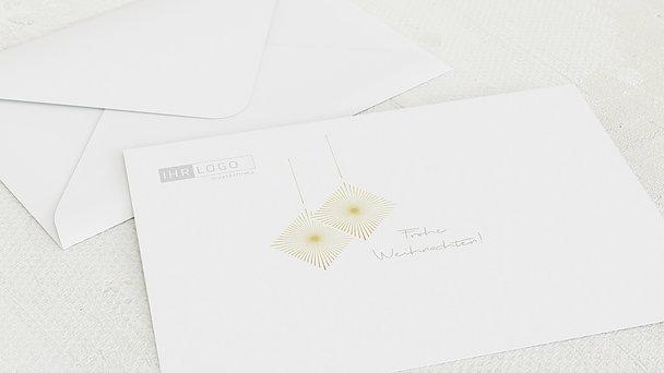 Umschlag mit Design Weihnachten Geschäftlich - Oh du fröhliche