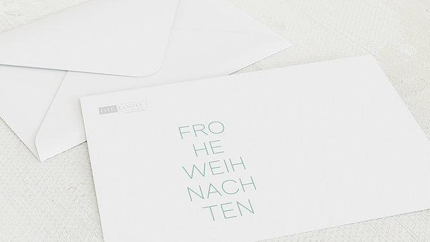 Umschlag mit Design Weihnachten Geschäftlich - Prachthirsch