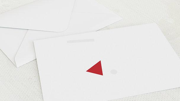 Umschlag mit Design Weihnachten Geschäftlich - Einmal anders