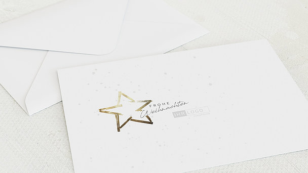 Umschlag mit Design Weihnachten Geschäftlich - Mein kleiner Stern