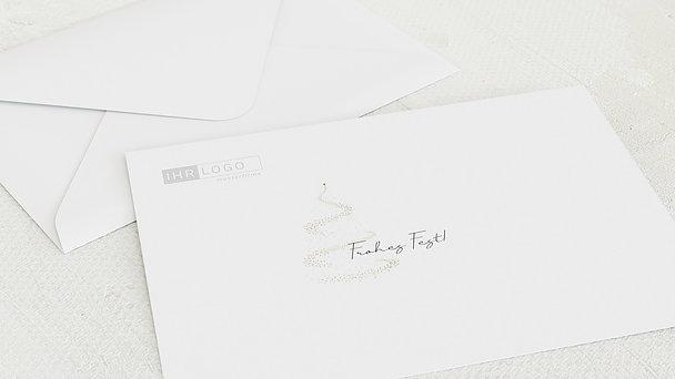 Umschlag mit Design Weihnachten Geschäftlich - Glam Tree