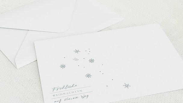 Umschlag mit Design Weihnachten Geschäftlich - Winterschönheit