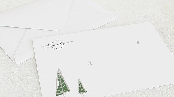 Umschlag mit Design Weihnachten Geschäftlich - Stern der Weisen