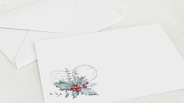 Umschlag mit Design Weihnachten Geschäftlich - Nostalgische Reise