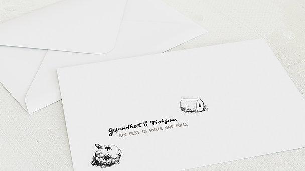Umschlag mit Design Weihnachten Geschäftlich - Gesundheit & Frohsinn