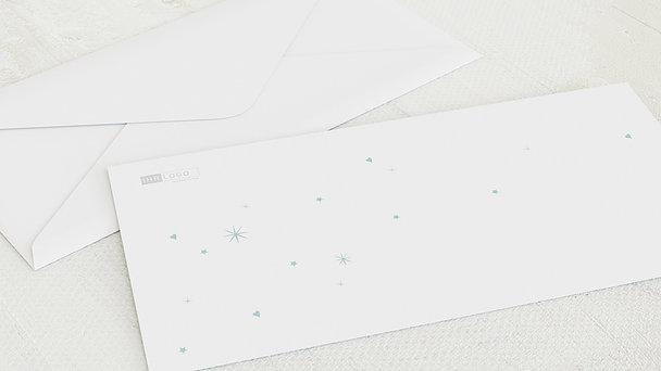 Umschlag mit Design Weihnachten Geschäftlich - Sprachenbaum