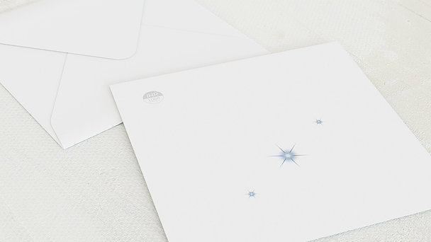 Umschlag mit Design Weihnachten Geschäftlich - Kopf hoch!