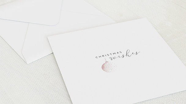 Umschlag mit Design Weihnachten Geschäftlich - Simply dotted