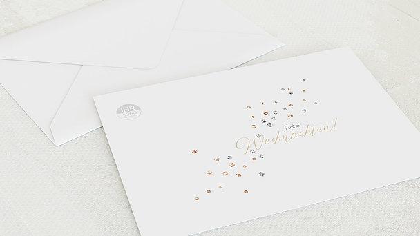 Umschlag mit Design Weihnachten Geschäftlich - Weihnachtsglamour