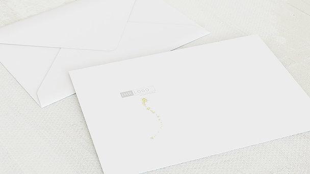 Umschlag mit Design Weihnachten Geschäftlich - Lichtflut