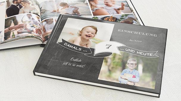 Fotobuch Einschulung - Jahrestafel Einschulung