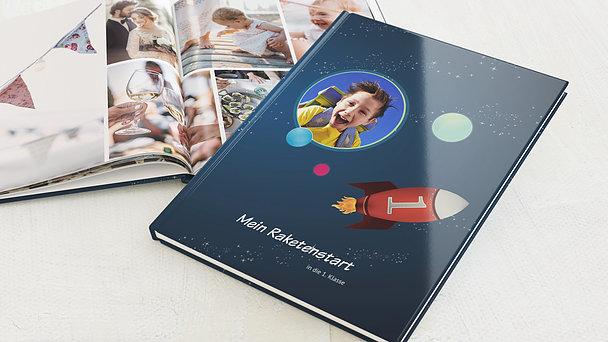 Fotobuch Einschulung - Rakete