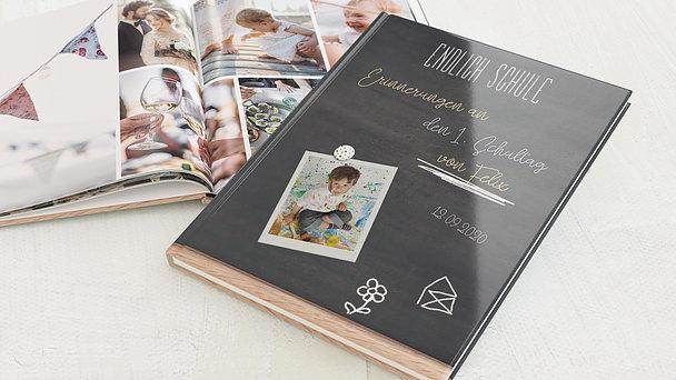 Fotobuch Einschulung - Tafelspaß