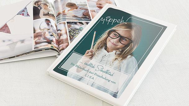 Fotobuch Einschulung - Wissbegierig