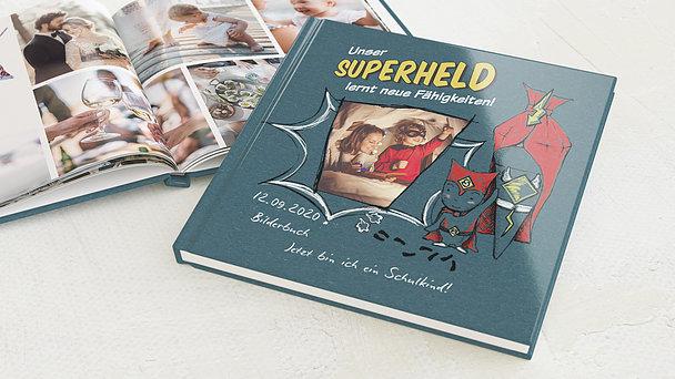 Fotobuch Einschulung - Unser Superheld
