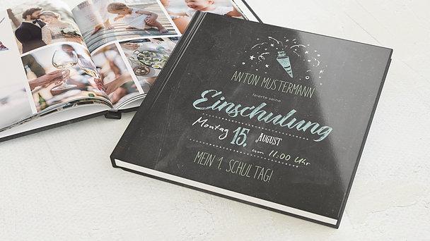 Fotobuch Einschulung - Ankündigung
