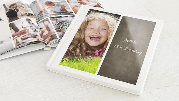 Fotobuch Einschulung - Getäfelt jung