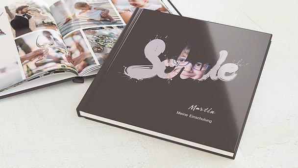 Fotobuch Einschulung - Farbspritzer
