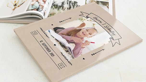 Fotobuch Einschulung - Kraftpapier
