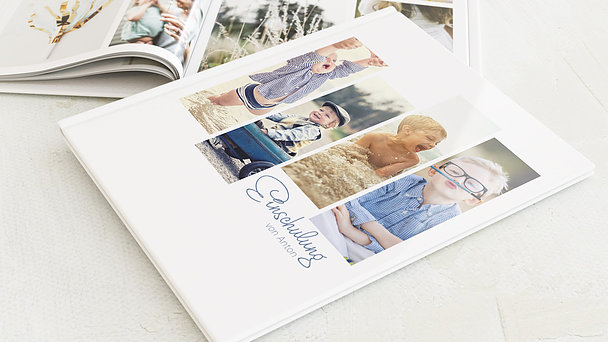 Fotobuch Einschulung - So schnell groß