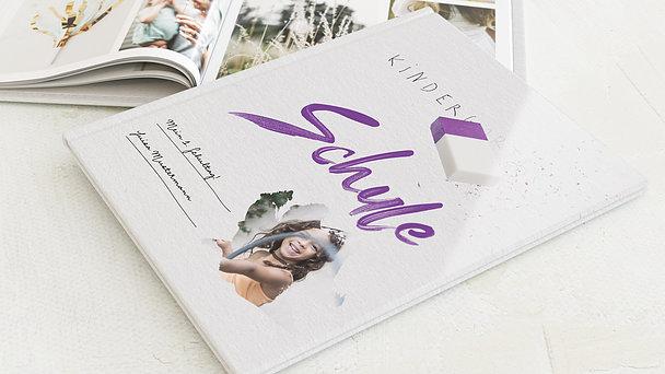 Fotobuch Einschulung - Ausradiert