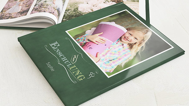 Fotobuch Einschulung - Tafelzierde