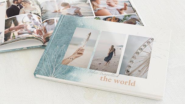 Urlaubsfotobuch - Feine Feder