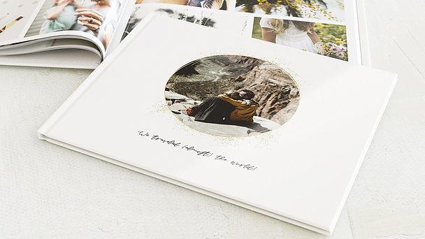 Urlaubsfotobuch - Goldtupfer