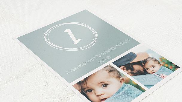 Einladungen für Kindergeburtstag - Mini me