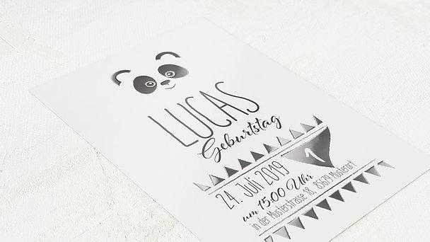 Einladungen für Kindergeburtstag - Bärchen