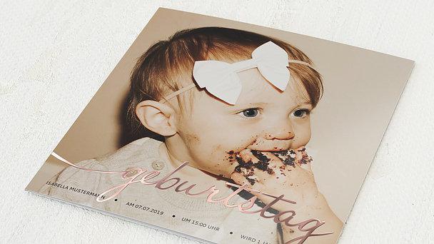 Einladungen für Kindergeburtstag - Little One