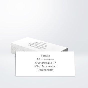 Adressaufkleber  Hochzeit - Ultraleicht