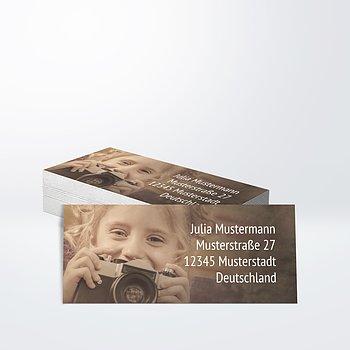 Adressaufkleber Geburtstag - Alte Zeiten 50