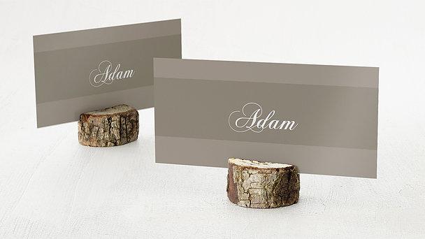 Tischkarten für Ihre Geburtstagsfeier - Dreiklang