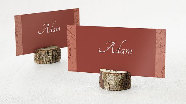 Tischkarten für Ihre Geburtstagsfeier - Card de Luxe
