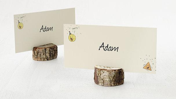 Tischkarten für Ihre Geburtstagsfeier - Runder Geburtstag