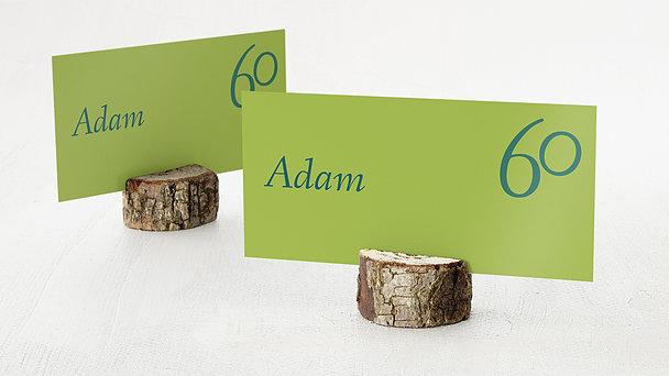 Tischkarten für Ihre Geburtstagsfeier - Meine Sechzig