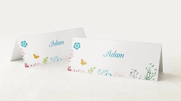 Tischkarten für Ihre Geburtstagsfeier - Gladiolengarten