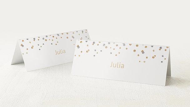 Tischkarten für Ihre Geburtstagsfeier - Geburtstagsglamour