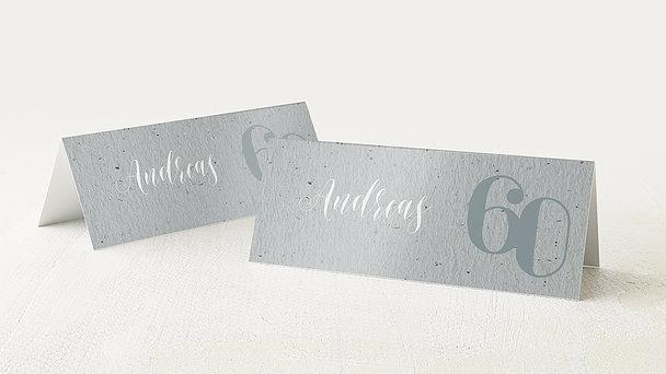 Tischkarten für Ihre Geburtstagsfeier - My time 60