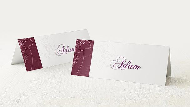 Tischkarten für Ihre Geburtstagsfeier - Geburtstagsblüten
