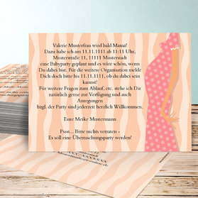 Einladung Babyparty U2013 Sleepwells, Einladungsentwurf