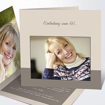 Geburtstagseinladungen - Lebensfreude 60