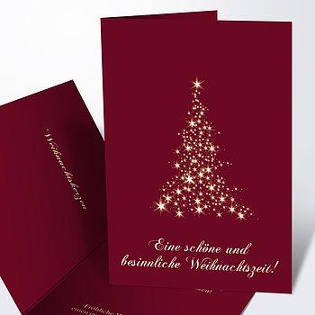 Weihnachtskarten - Lichtflut