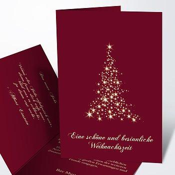 Weihnachtskarten Geschäftlich - Lichtflut