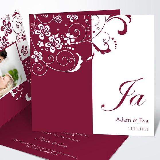 Hochzeitseinladung - einladung hochzeit vorlage