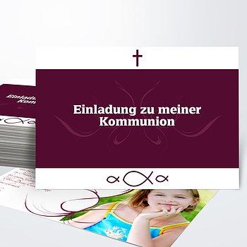 Kommunionskarten - Huldigung