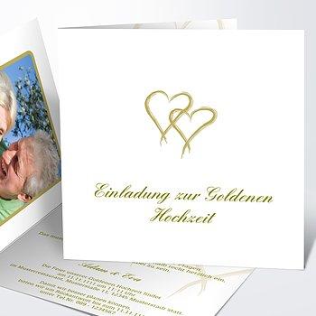 Goldene Hochzeit   Goldene Hochzeit Danksagung